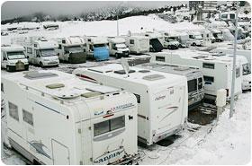 Aaire d'accueil pour les camping-cars